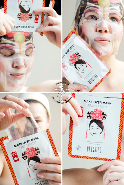 k-beauty koreańskie ksometyki maseczka na bawełnianym płacie gniazda jaskółcze koreańsie zioła