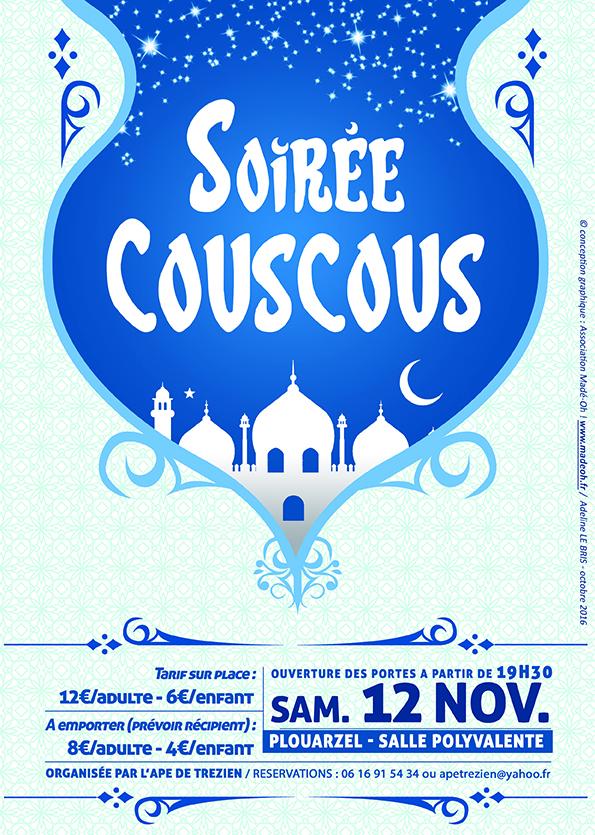 Ecole Publique De Trzien Plouarzel Soire Couscous