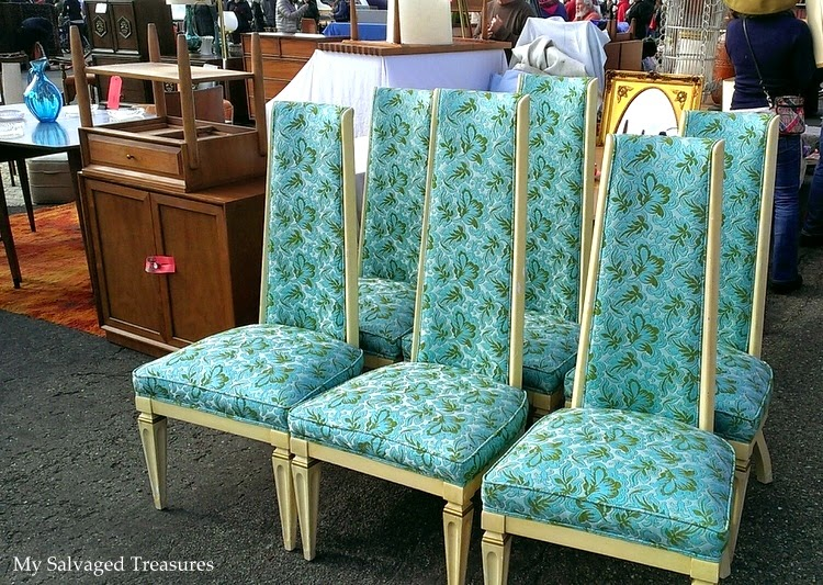 1960s dining room chairs