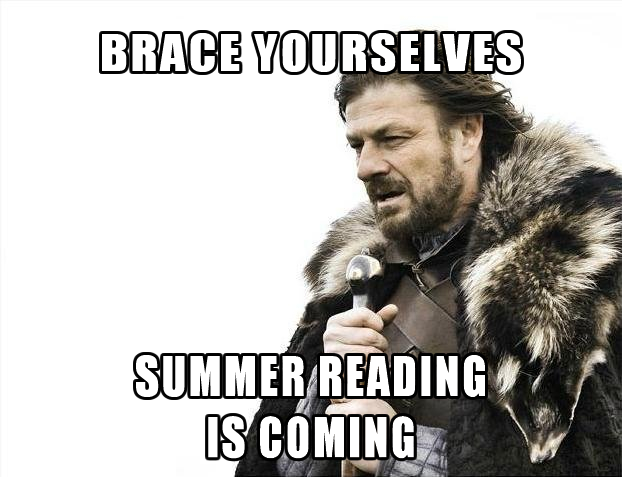 Brace Yourselves Summer Is Coming: GreenBeanTeenQueen: All About Summer Reading