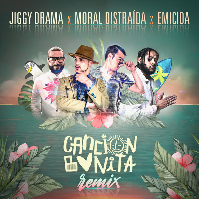 """Emicida participa do remix de """"Canción Bonita"""", sucesso do grupo chileno Moral Distraída"""