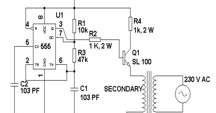 LoadedCircuit.Com: 12 Volt to 230 Volt Inverter Circuit
