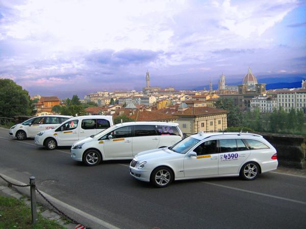 Táxi do aeroporto até o centro de Florença