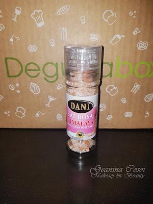 Dani Sal rosa del Himalaya Caja Degustabox - Diciembre '16