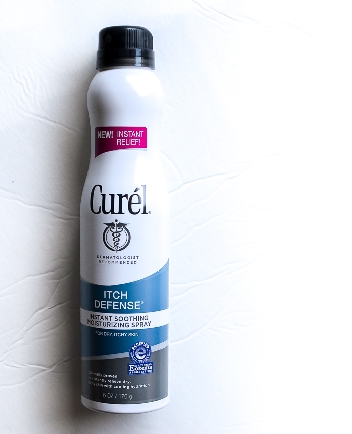 Curel Itch Defense Instant Soothing Moisturizing Spray - Review