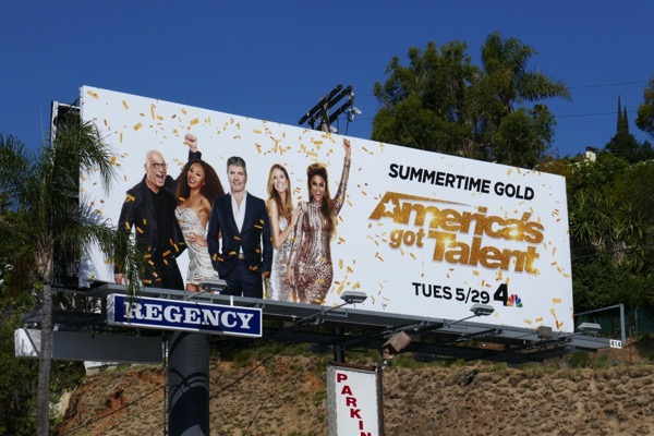 Americas Got Talent season 13 billboard