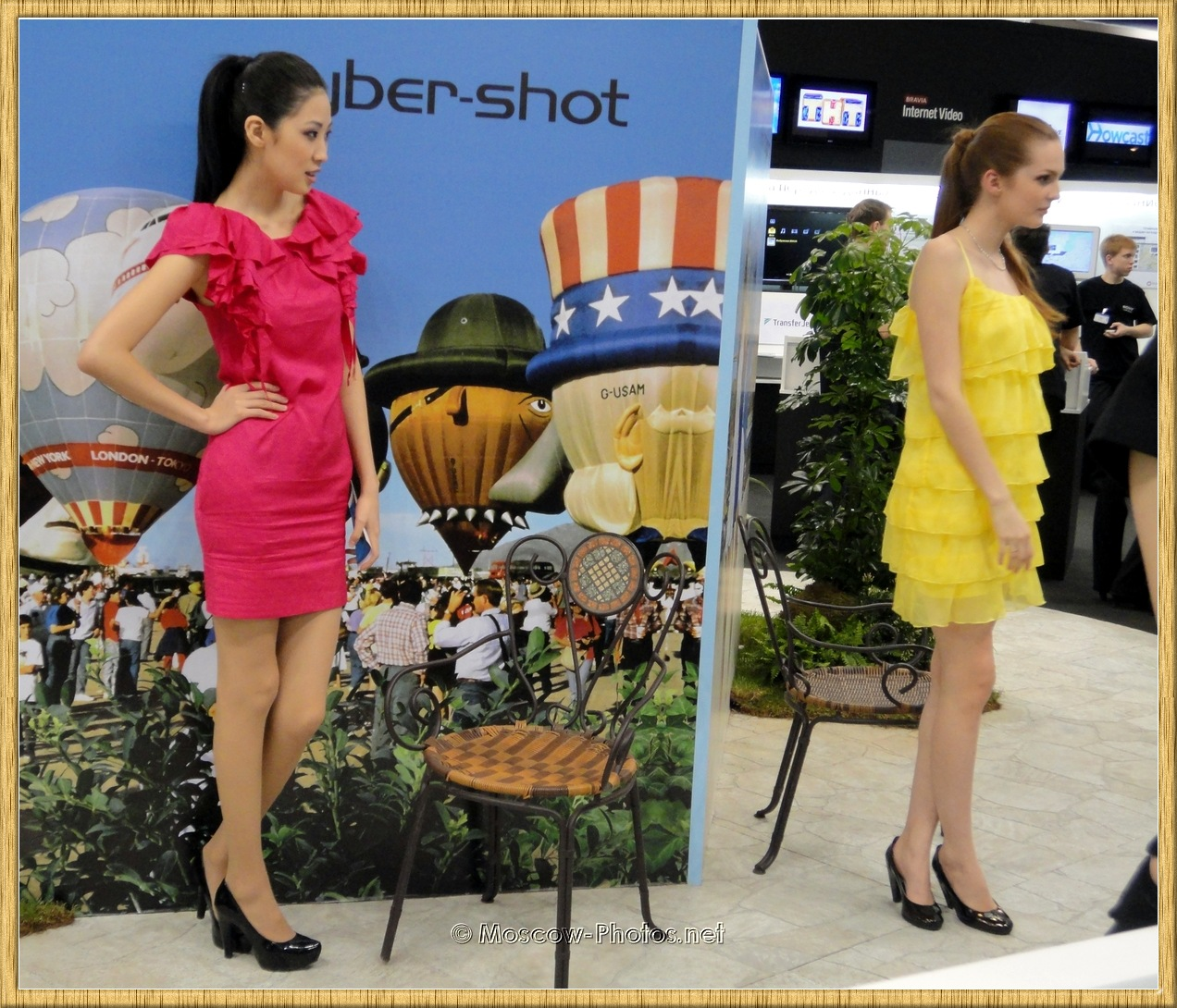 Sony Promotional Models at Photoforum 2010