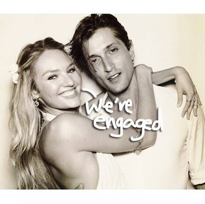 Victoria's Secret Supermodel Candice Swanepoel Engaged To Marry Her Boyfriend Of Ten Years! Cue The Awws!