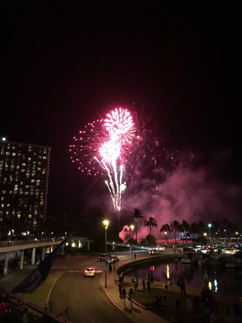 Aloha Friday fireworks The Modern Honolulu