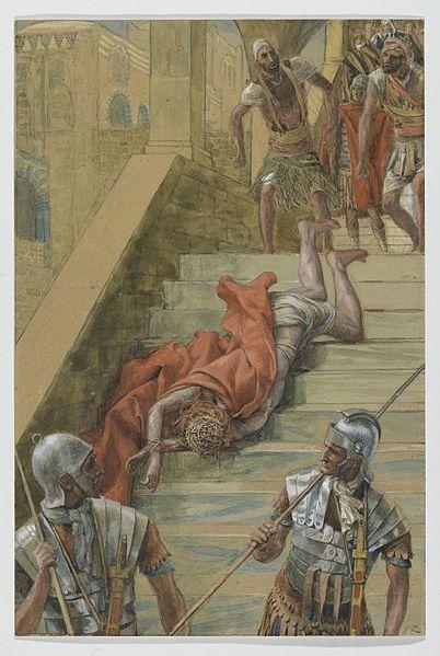 Η Αγία Σκάλα. Πίνακας του James Tissot (1836 -1902).