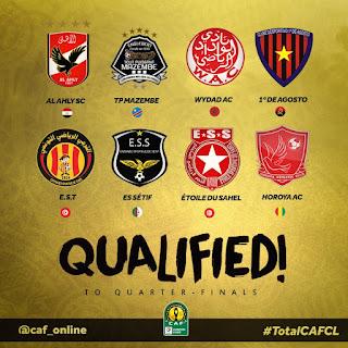 أعلان الان نتيجة قرعة ربع نهائي دوري أبطال أفريقيا وكأس الكونفدرالية الإفريقية اليوم 3/9/2018 كاملة