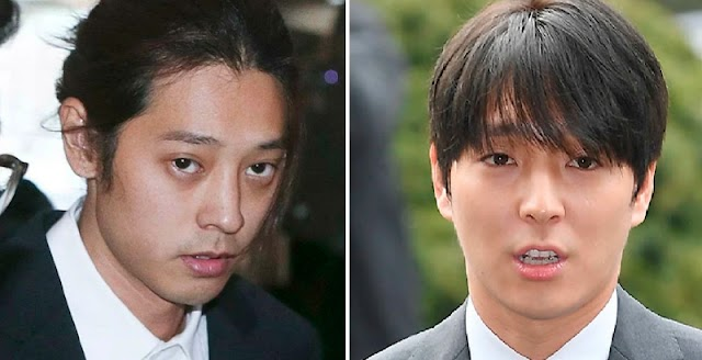 Jung Joon Young y Choi Jonghoon niegan cargos de violación agravada