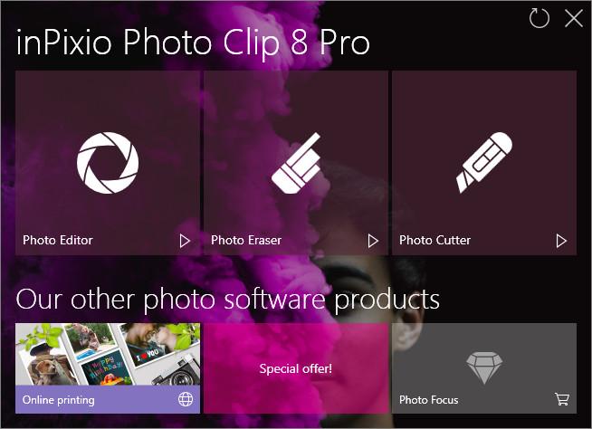 InPixio - Photo Clip Pro v8.5.0 Full version
