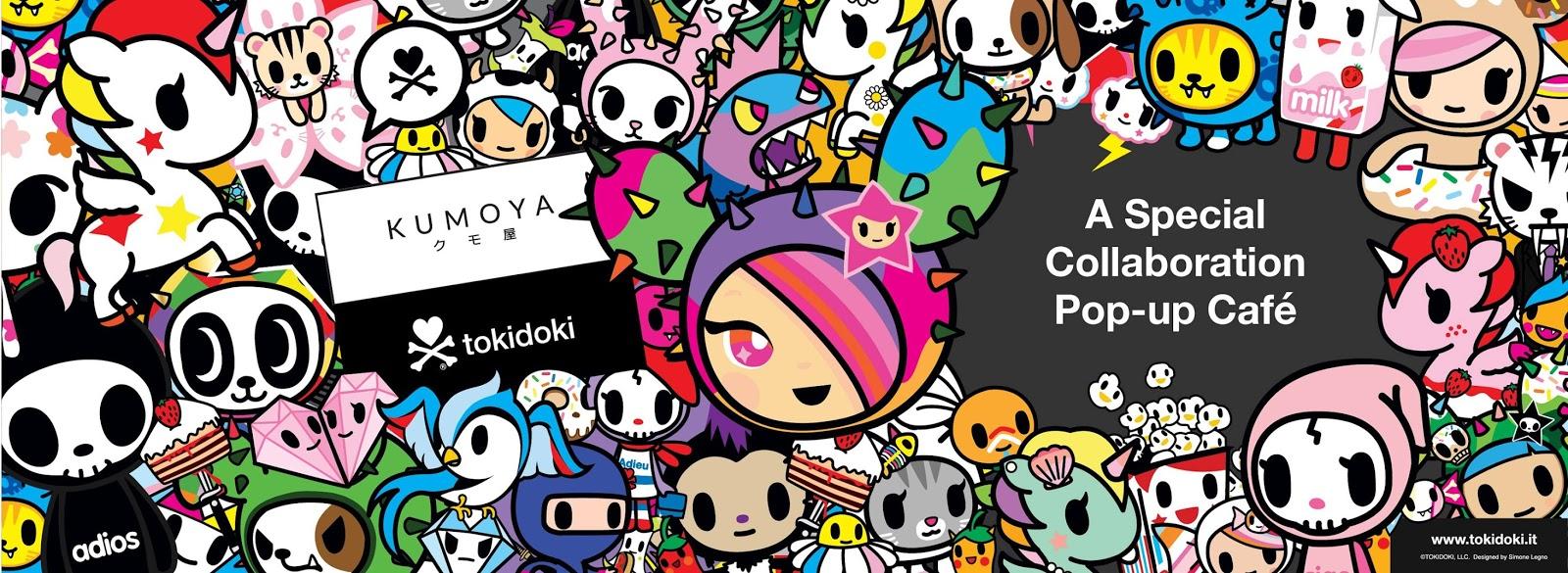 Kumoya X Tokidoki Pop Up Cafe In Singapore Opens March 29th