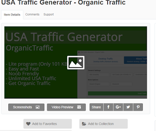 USA Traffic Generator - Organic Traffic
