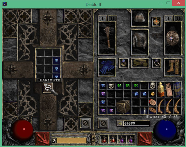 The Horadric Cube | Diablo 2 Screenshot
