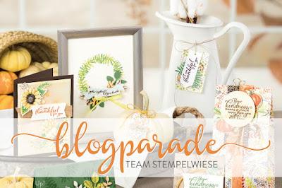 """Stempelwiese Blogparade """"Herbstdekoration"""""""