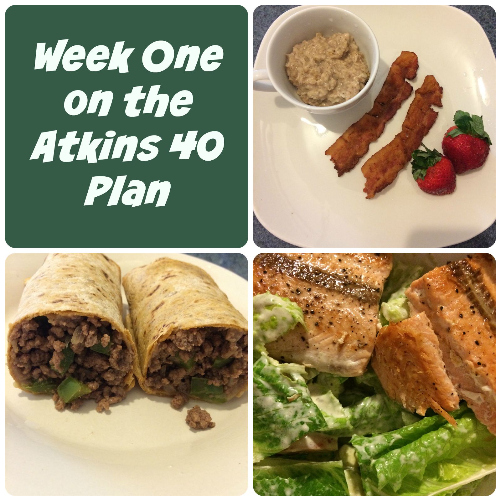 Atkins Diet Recipes: Week One On The Atkins 40 Plan