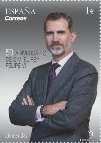 50 cumpleaños S.M. el Rey Felipe VI