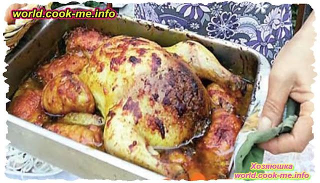 Лявянги из курицы . Азербайджанская кухня