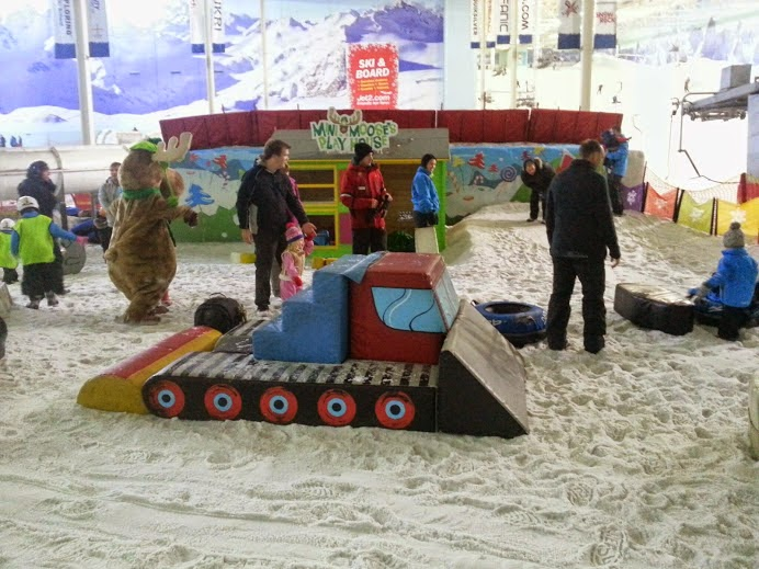 Chill Factore Manchester Snow Park under 4 area Mini Moose Land