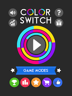 Game Mod Color Switch v5.6.1 (Mod Stars/All Unlocked/Ads Free) Apk Android