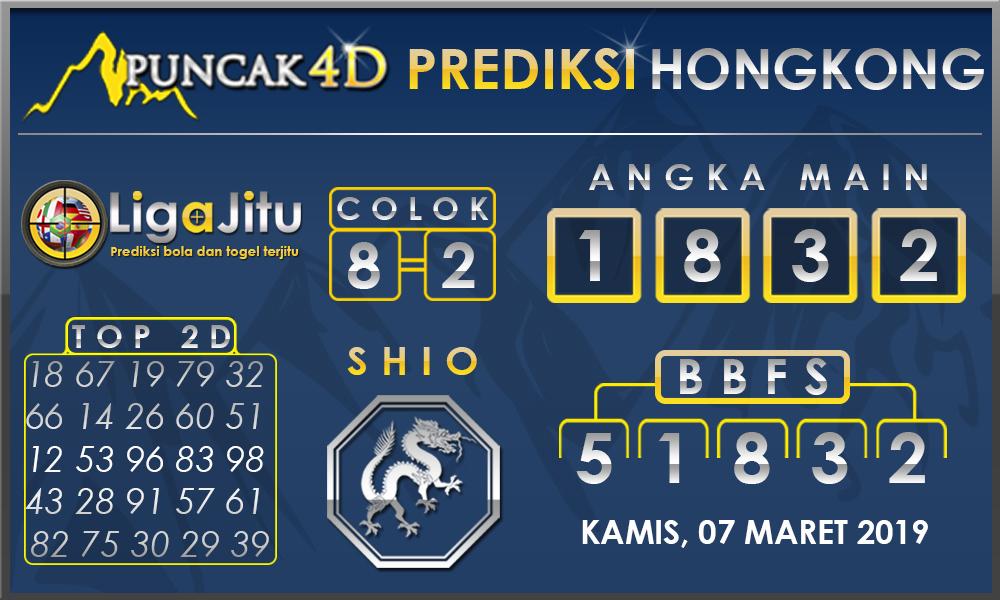 PREDIKSI TOGEL HONGKONG PUNCAK4D 07 MARET 2019