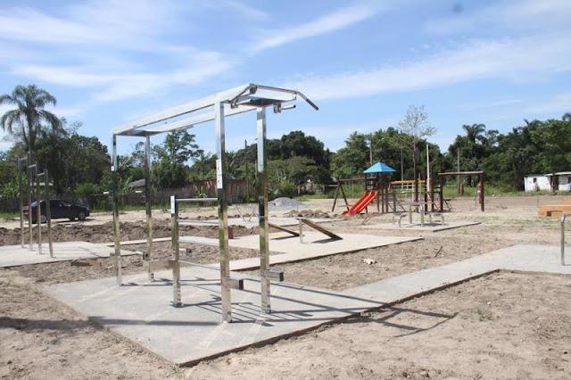 Ilha investe na instalação da Ilha de Lazer do Marusca, quarto complexo esportivo e de lazer do município