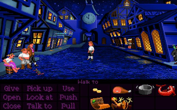 The Secret of Monkey Island PC DOS