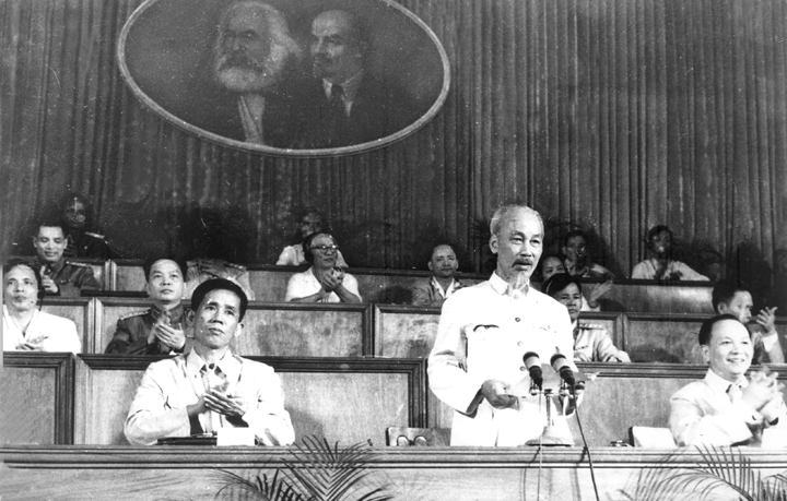 Ho Chi Minh addresses the Third National Party Congress (September 1960)