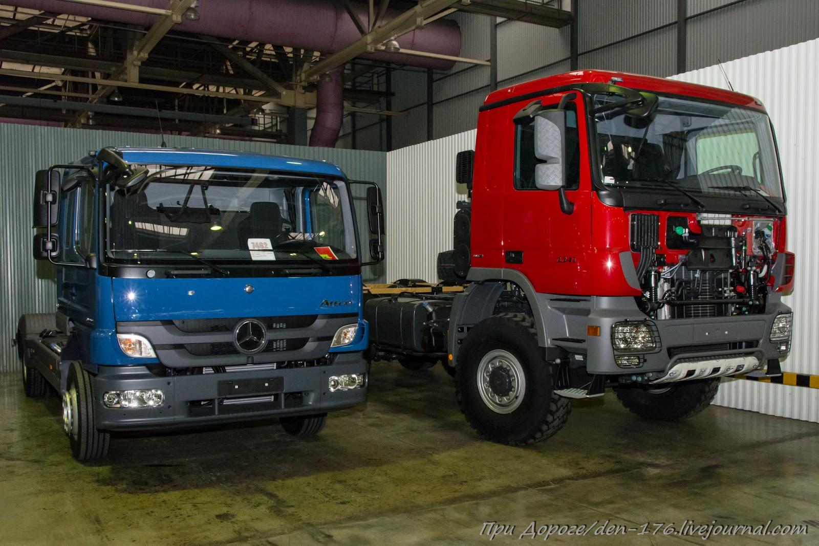 How to make MBTV 24 Mercedes Benz trucks in Naberezhnye Chelny
