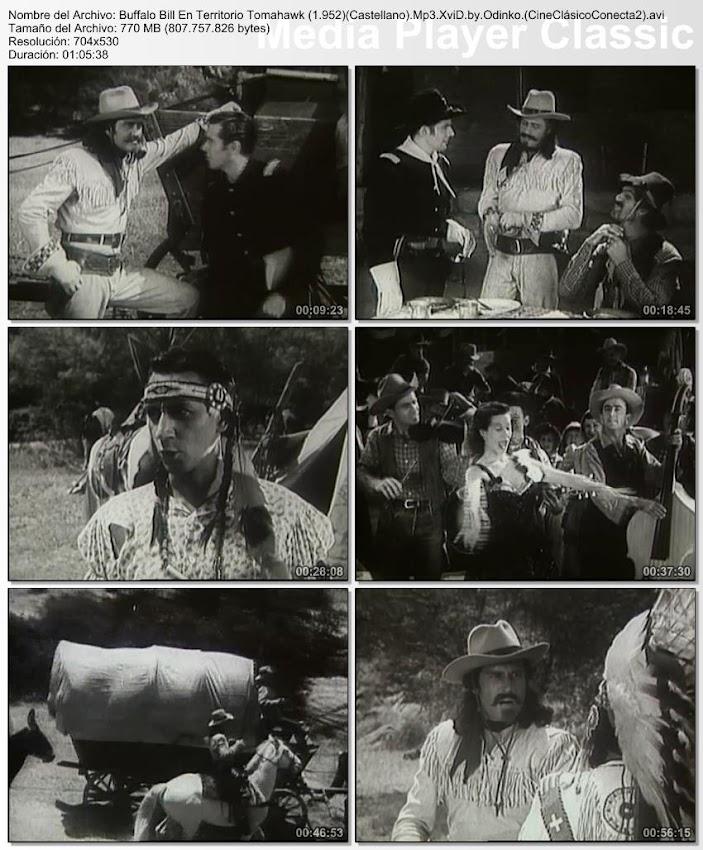 Image: Buffalo Bill en territorio tomahawk | 1952 | Buffalo Bill in Tomahawk Territory
