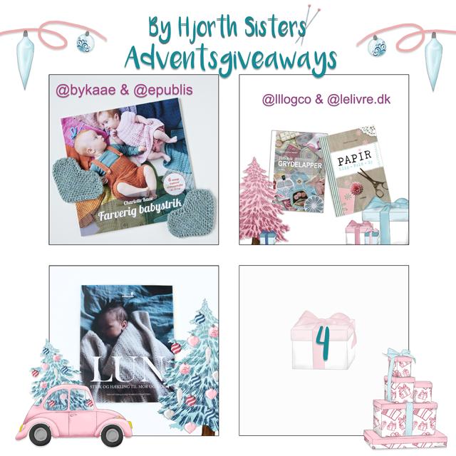 """Deltag i min adventsgiveaway på bloggen """"By Hjorth Sisters"""":"""