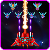 Download Galaxy Attack Alien Shooter MOD APK v2.2 Original Version for Android Terbaru 2017