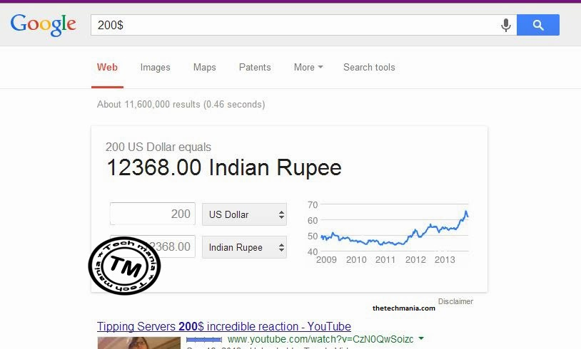 Use Google Differently - Currency Converter