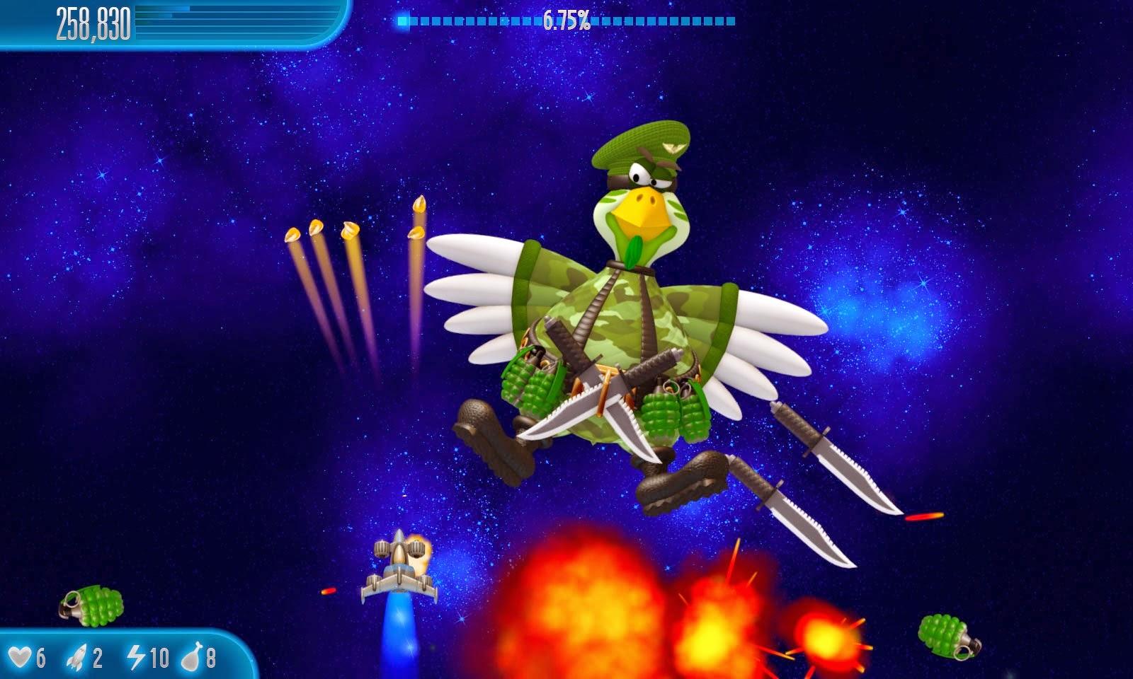 تحميل لعبة chicken invaders 5