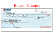 Cheque : Definition and Types