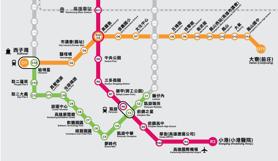 台湾高雄観光旅行。ジュジュの娯...