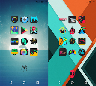Free Download DarkFlow - Icon Pack v1.1 APK