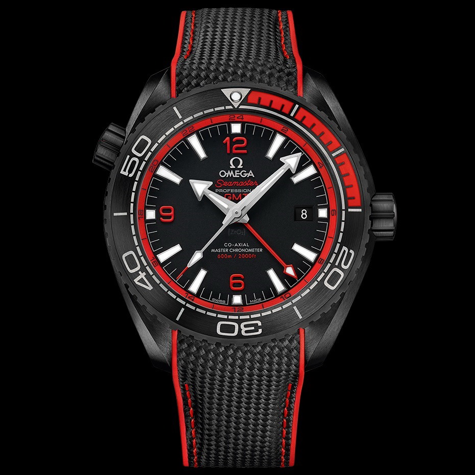 Oceanictime omega seamaster planet ocean 600m master - Omega dive watch ...