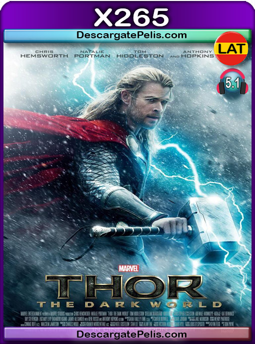 Thor Un mundo oscuro 2013 1080P x265 Latino – Ingles