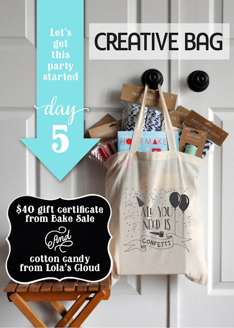 day 5 - giveaways and party product specials | Creative Bag