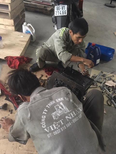 sửa chữa xe nâng tại thuận an bình dương
