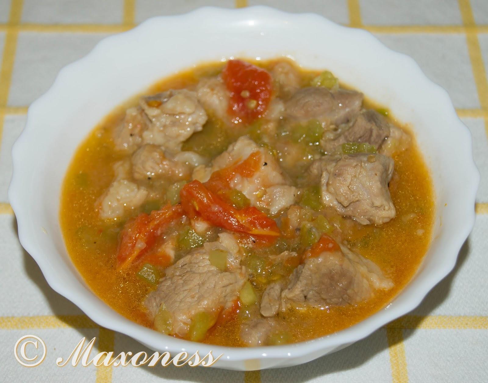 Перкельт со свининой. Венгерская кухня