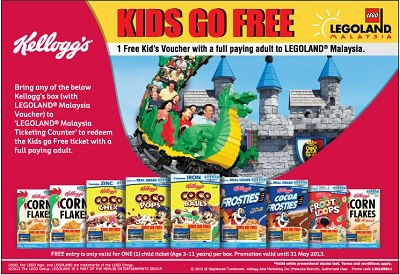 Legoland Malaysia: Free Child Ticket with Paid Adult ...