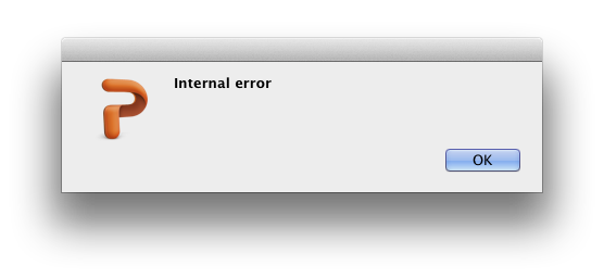 VBA Compiler Internal Error in Corrupt PowerPoint file