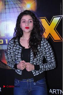 Actress Mannara Chopra Stills in Jeans at Sparx 2017 Curtain Raiser Event  0046.JPG
