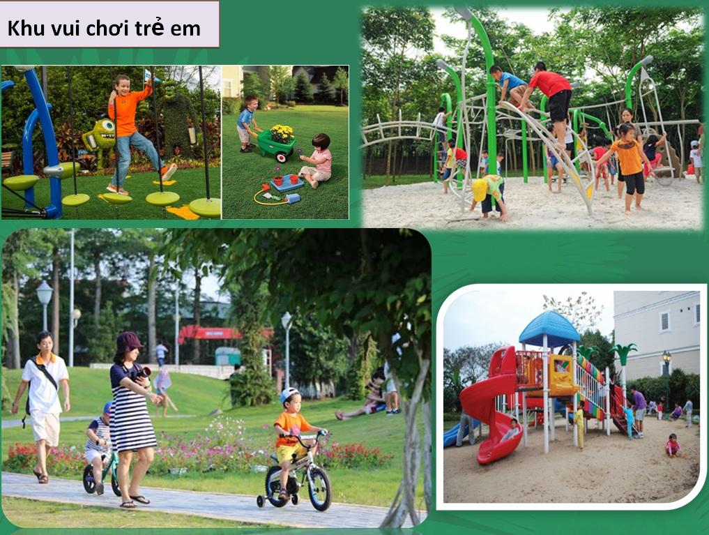 Tiện ích khu vui chơi trẻ em