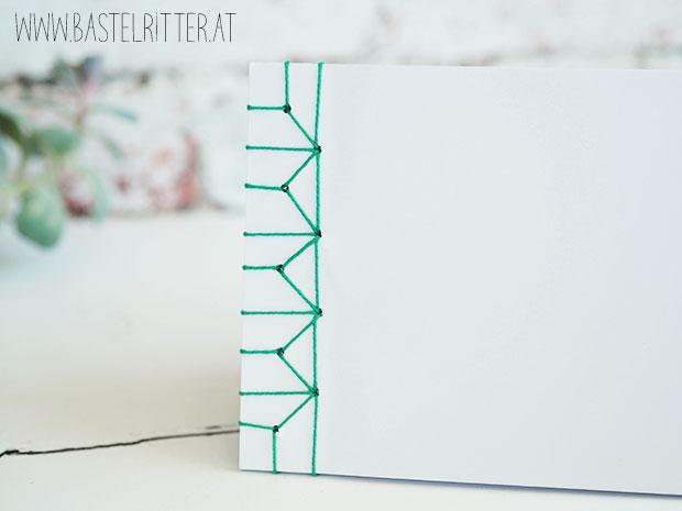 Inspiration Art Muster Motive Stampin up Bastelritter japanische Buchbindung