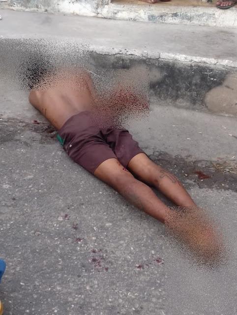 Jovem é morto a facadas próximo a Rodoviária de Chapadinha.